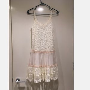 Francesca's Collections Whisper Lace Dress S NWT